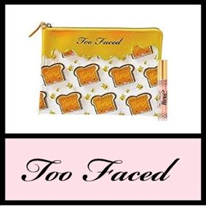 Too Faced Honey Limited Edition Cosmetic Bag